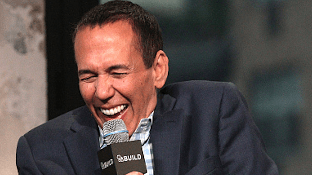Gilbert Gottfried responded to his lady lookalike, who is hopefully not a soundalike.