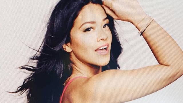 Gina Rodriguez doesn't look like Gina Rodriguez anymore. Now she's ready to annihilate you.
