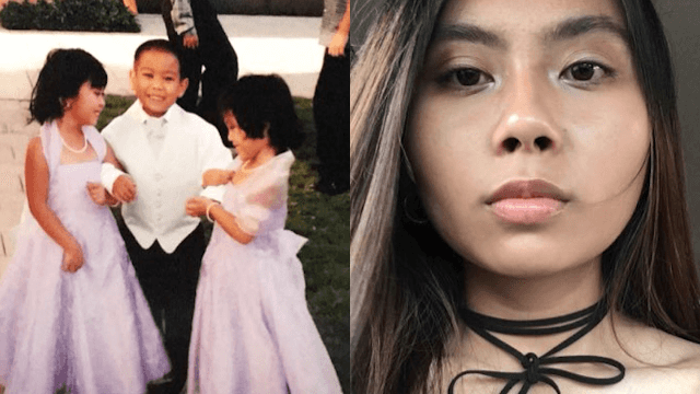 Girl's embarrassing throwback pic goes viral and reunites her with her childhood crush.