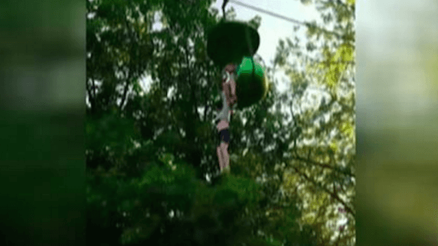Girl plummets to the ground from Six Flags gondola ride—with only a crowd below to catch her.