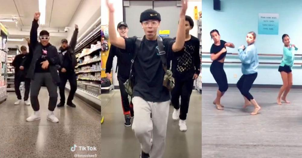 The 'git up challenge' is the new teen dance trend that's