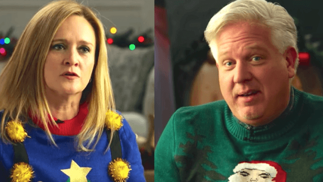 Unlikely couple Glenn Beck and Samantha Bee put aside their differences to take down Trump.