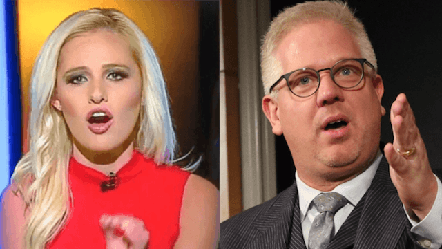 Glenn Beck is countersuing Tomi Lahren. Things are getting messy.