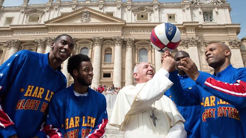 Pope Francis met with some REAL miracle makers.
