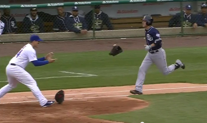 When a ball got stuck in his glove, this smooth-as-hell MLB pitcher threw his entire glove.