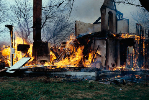 A 66 year-old man's house burning down wasn't enough for Comcast to stop charging him.
