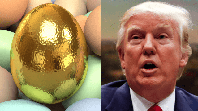 The White House is selling golden Easter eggs on their website, but don't be so quick to judge.