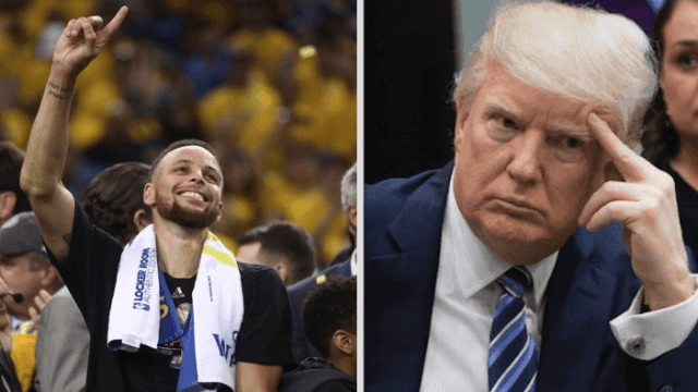 Rumor has it the Golden State Warriors don't want to visit the White House.