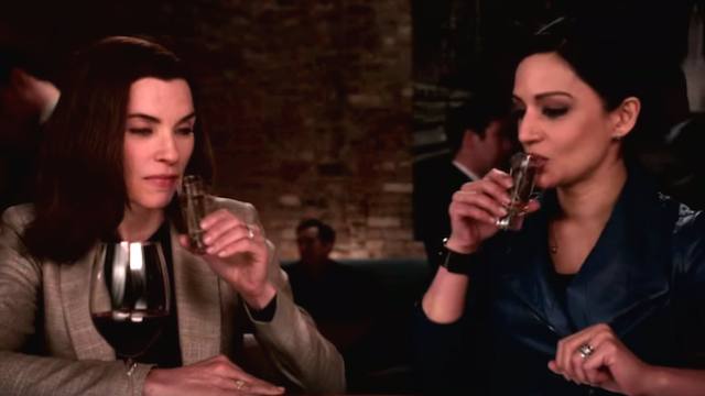 'The Good Wife' stars have conflicting stories about their rumored feud, spurring more rumors.