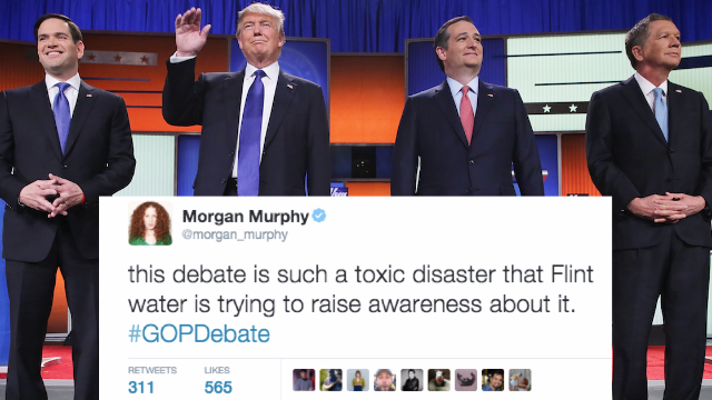 The 33 funniest reactions from comedians to the GOP debate in Detroit.