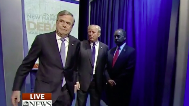 The moderators of the #GOPDebate had an absolute disaster introducing the candidates.