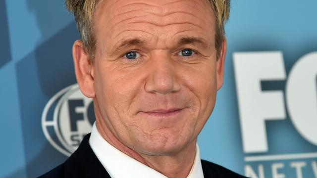 Gordon Ramsay's new haircut makes him look like a sk8er boi.