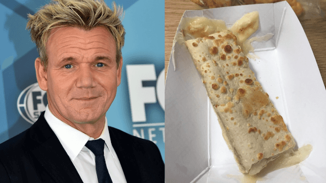 Gordon Ramsay insults school lunch cheesy breadsticks, Twitter rises to their defense.