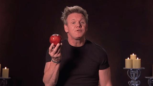 Gordon Ramsay gives Halloween treats the Gordon Ramsay treatment.