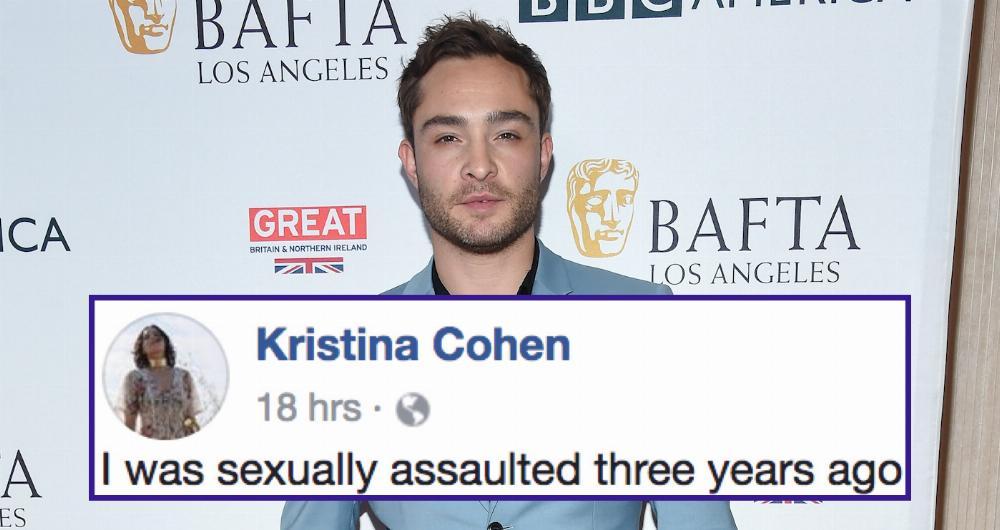 Actress accuses 'Gossip Girl' actor Ed Westwick of raping her in detailed  Facebook post. | Someecards Celebrities