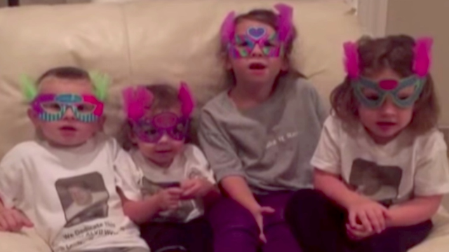 Kids try to give their grandma a nice birthday message, but it gets dark real quick.