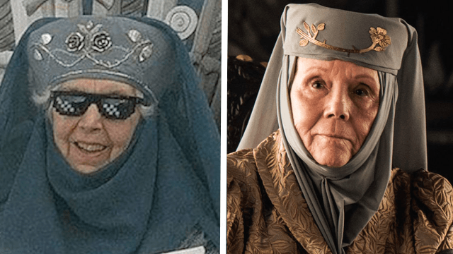 Grandma's 'GoT' Olenna Tyrell cosplay is the only thing fiercer than the Queen of Thorns.