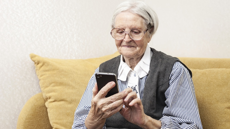 This is what happens when you confuse your grandma for an anonymous sexter.