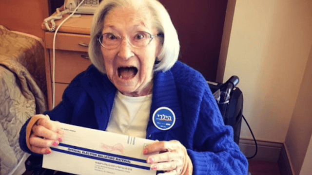These 14 grandmas who voted will make you cry all the way to the polls.