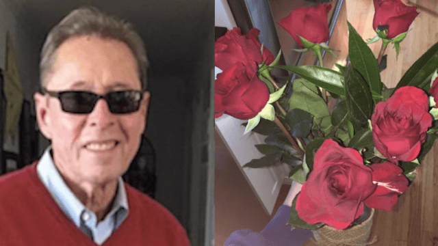 Internet comes forward with messages of support for sweet grandpa who was stood up on a date.