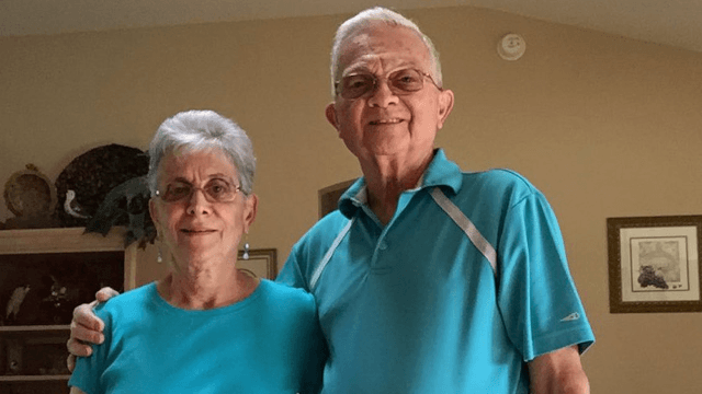 The internet has fallen in love with this guy's grandparents, who match outfits every day.