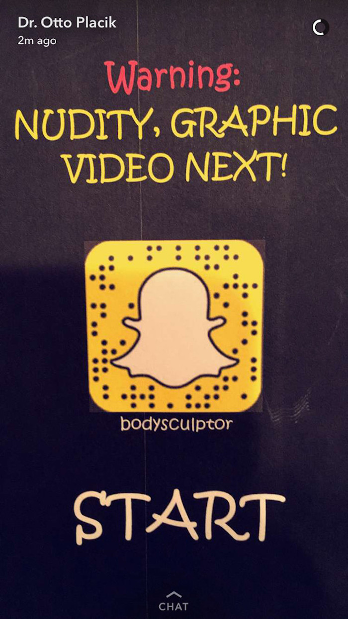 Plastic surgeons are posting surgery videos on Snapchat, because what's more fun to watch than live surgery?