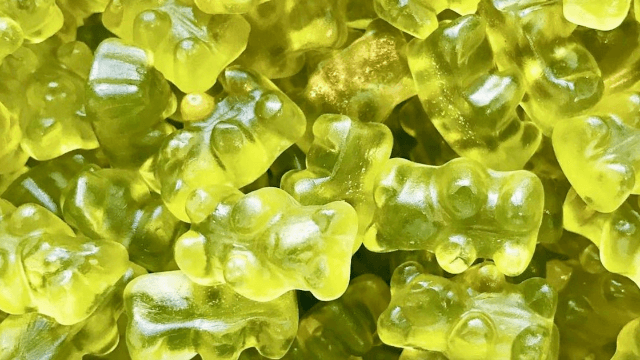 'Green juice' gummy bears are now a thing so candy is ruined.