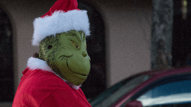 Cops respond to little boy who called 911 to narc on the Grinch.