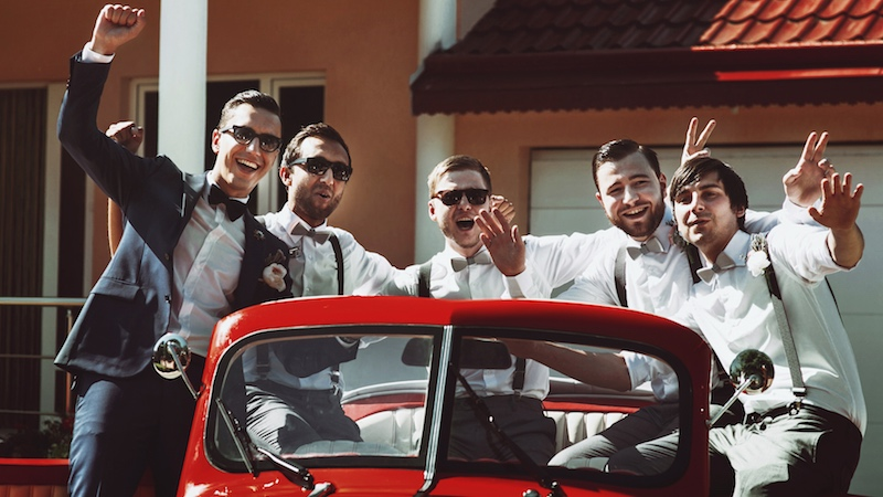 The 18 best stories of groomsmen behaving even worse than expected.