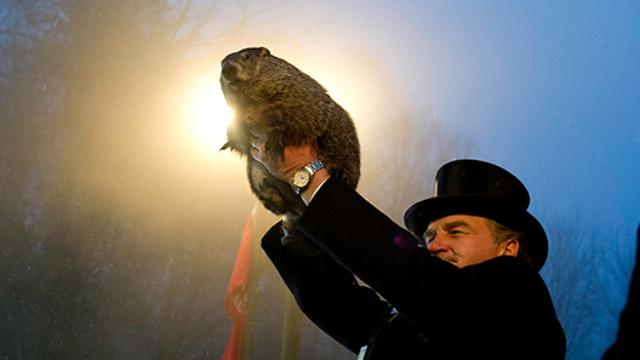 Groundhog Day 2018: Punxsutawney Phil predicts 6 more weeks of winter, ugh.