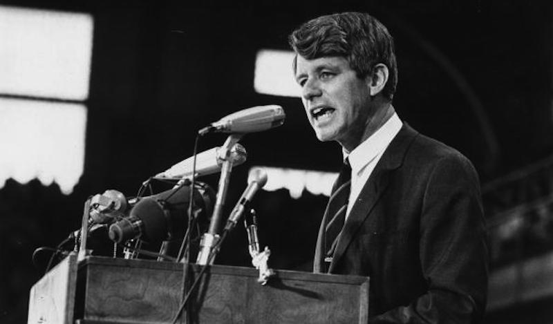 Nearly 50 years ago, Robert Kennedy spoke about gun control. He was assassinated that year.