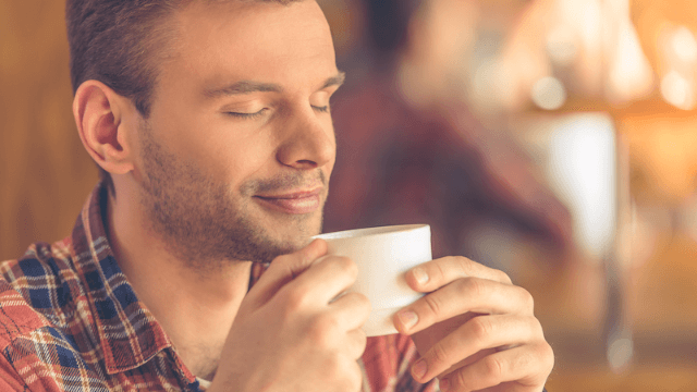 Learn from this guy who assumed a cup of liquid was tea and decided to drink it.