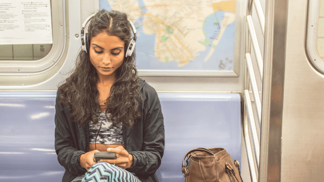 Hero woman shames subway pervert into eating his creepy upskirt pics. Yes, eating.