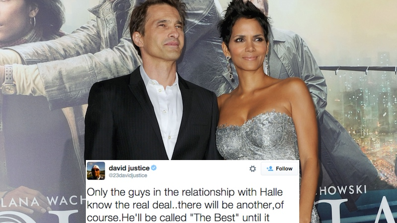 Two of Halle Berry's ex-husbands teamed up on Twitter to blame her for her latest divorce.