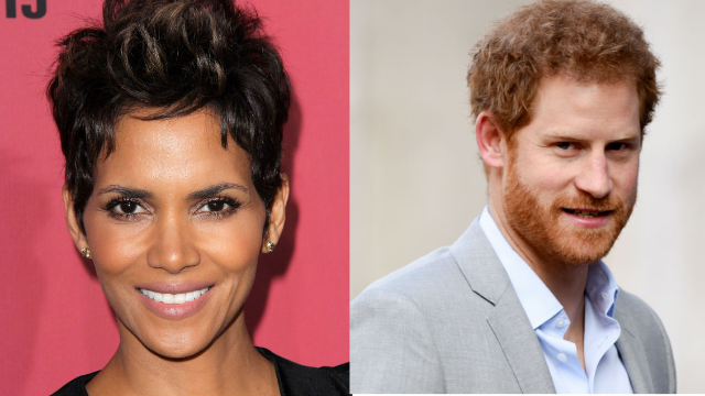 Halle Berry trolls Prince Harry and reveals teen crush
