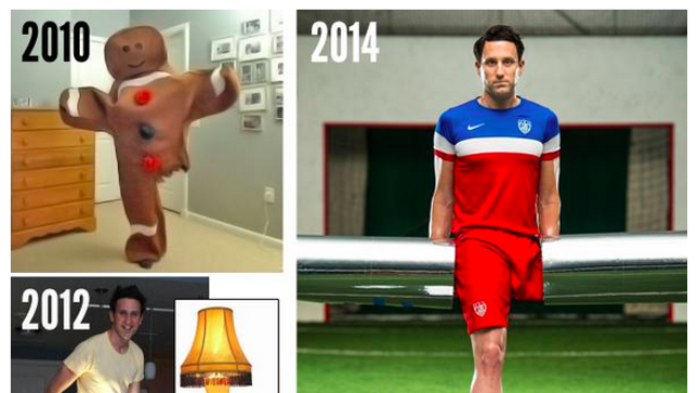 Paralympian with one leg continues his winning Halloween tradition with tasty 2015 costume.