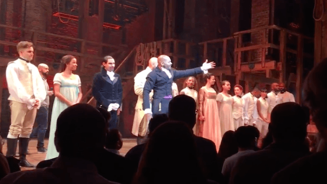 The cast of 'Hamilton' called out Mike Pence at last night's show, and conservatives' feelings are really hurt.