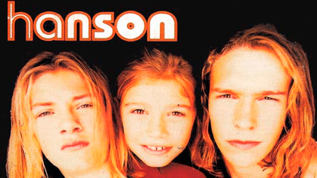Hanson performs 'MMMbop' to celebrate their 25th anniversary. Damn, do we feel old.