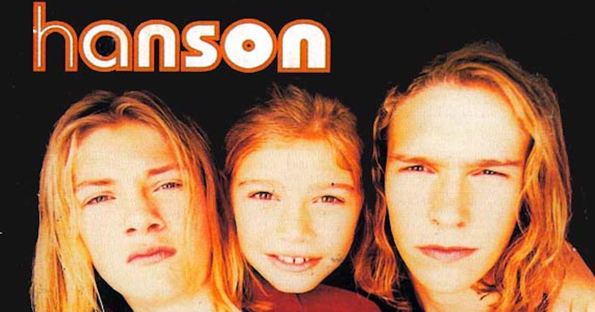 hanson performs  u0026 39 mmmbop u0026 39  to celebrate their 25th anniversary  damn  do we feel old