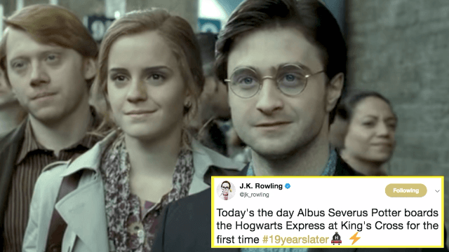 Today is a monumental day in the 'Harry Potter' universe and Twitter has a lot of feelings.
