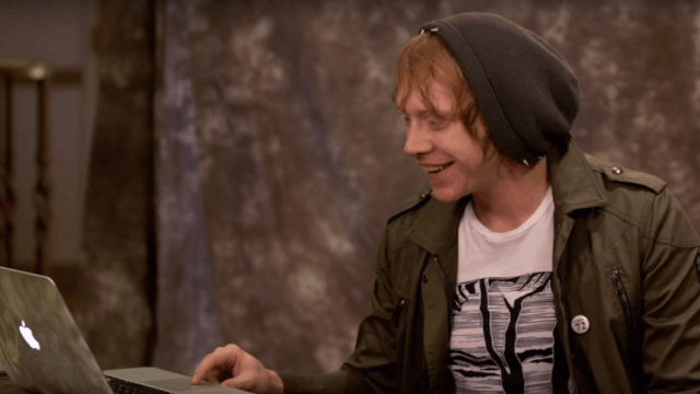 'Harry Potter' actors get sorted into Hogwarts houses with an online quiz. It's slightly less magical.