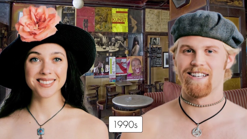 Seeing all the gorgeous hat fashions of the last 100 years will make your head feel naked.
