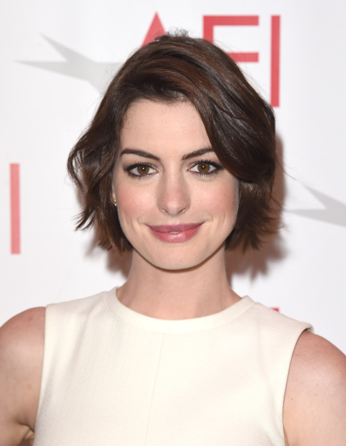 Leave Anne Hathaway alone. (via Getty)