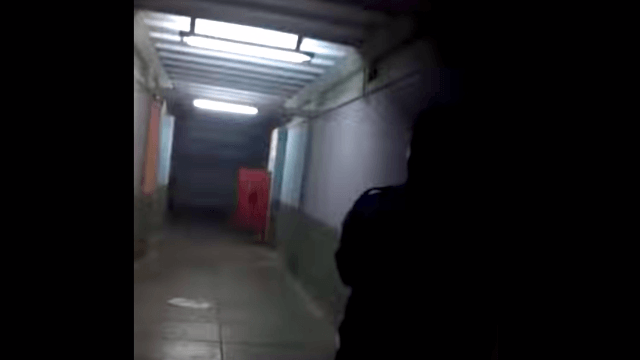The entire internet is terrified by this inexplicable footage of a 'haunted' door.