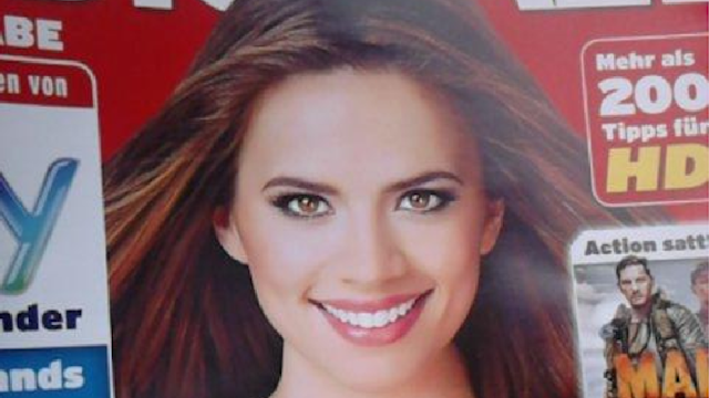 Hayley Atwell tweets great response to being Photoshopped on a magazine cover.
