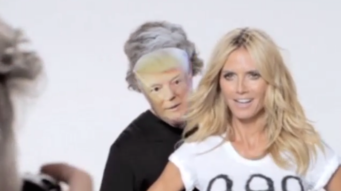 Heidi Klum gets 10/10 for her video response to Trump's allegations that she's not a 10/10.
