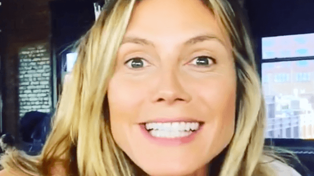 Heidi Klum says: 'The myth that models don't eat is totally not true.'