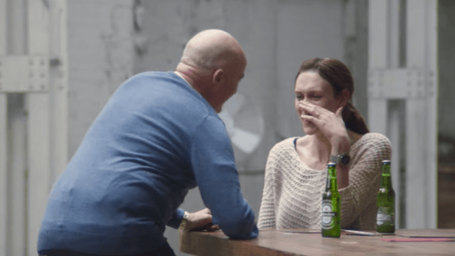 Heineken forces people with opposing politics to work together in new commercial. It gets intense.