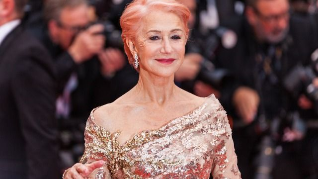 Helen Mirren shares why it was important to wear makeup every day in lockdown.