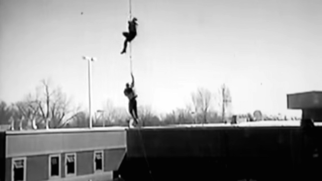 These crooks got caught after their insane helicopter jailbreak, but it made for a great video.